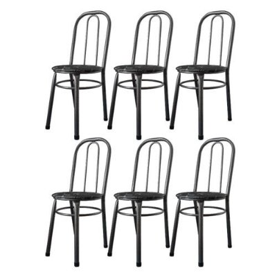 Cadeiras Para Cozinha Para Mesa De Jantar Conjunto 6 Cadeiras Julia WRM