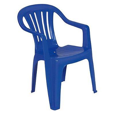 Poltrona Plástica Mor Azul