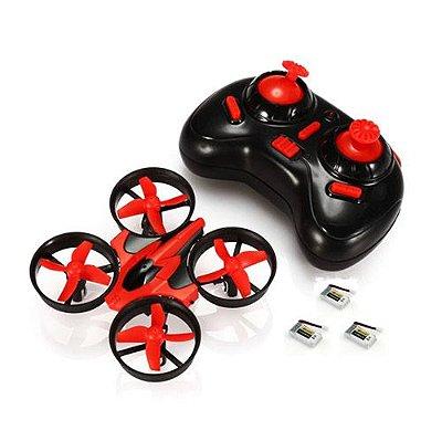 Drone com Dimensão de 9.5x9.5x5 cm Distancia de Vôo de 60 Metros