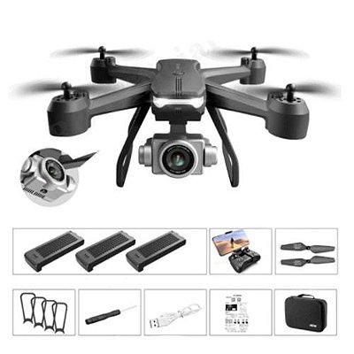Drone Pró Câmera 4k Voo de 20 Minutos com Função Wifi e Controle Remoto
