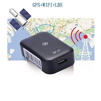 Mini Rastreador GPS para Carros Microfone de Silício de Alta Definição Wifi
