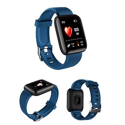Relógio Smartwatch Inteligente Unissex Eletrônico de Led e Digital