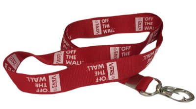 Chaveiro fita Unissex para Crachá Vans Off The Wall -3 Cores