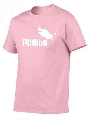Camiseta Unissex Revival Pumba Hakuna Matata Manga Curta Estampada Silk - 8 cores