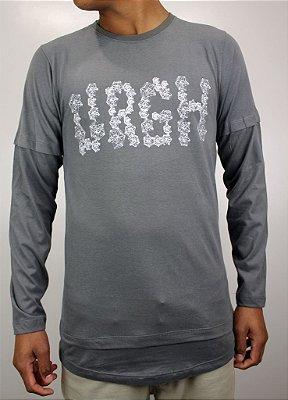Camiseta Urgh Manga Longa Geomatric