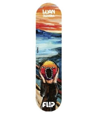 SHAPE FLIP LUAN OLIVEIRA SCREAMING 8''