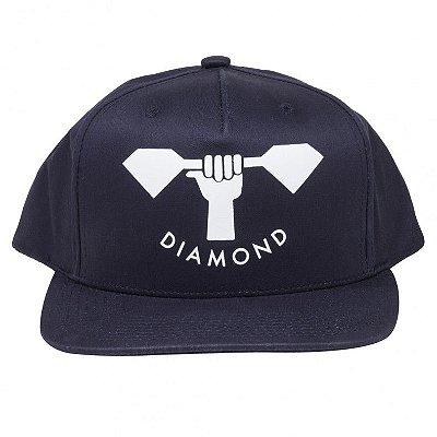 Boné Diamond Strong Arm Navy