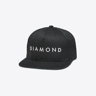 Boné Diamond Facet Black