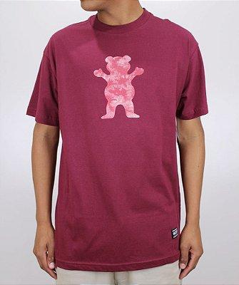 Camiseta Grizzly Shatter Og Bordo