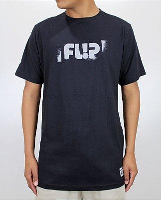 Camiseta Flip Stencil