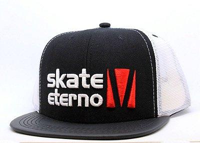 Boné Skate Eterno Logo Tela