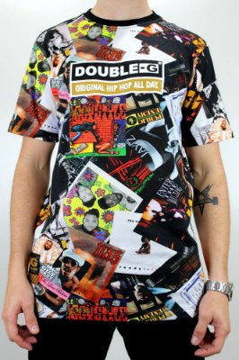Camiseta Double G Hip Hop