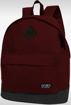 MOCHILA FLIP HKD PATCH BURGUNDY