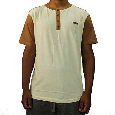 Camiseta Blaze Tunisien Bege/Amarelo Queimado