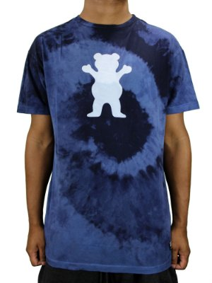 Camiseta Grizzly Eclipse Tie Dye