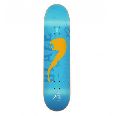 SHAPE blaze PIPE BLUE/YELLO W 7.75""