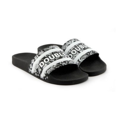 Chinelo Double-G Slide Preto Pansley
