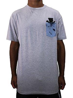 Camiseta Grizzly Eclipse Tie dye Pocket