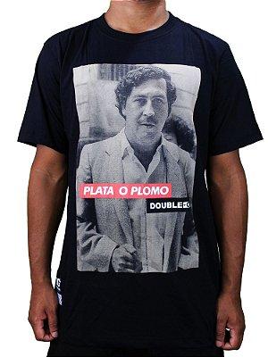 Camiseta Double-G Plata o Plomo