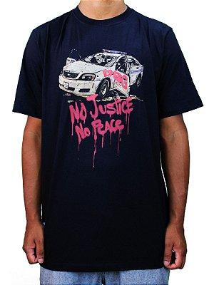 Camiseta Double-G No Justice No Peace
