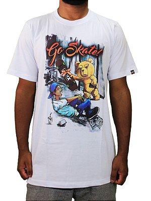 Camiseta Qix Go Skate!