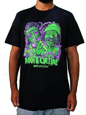 Camiseta Qix Cheech & Chong Aliens