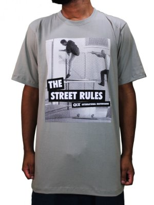 Camiseta Qix Street Rules