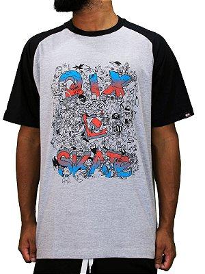 Camiseta Qix Raglan Skate