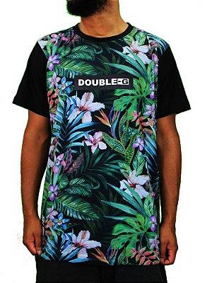 Camiseta Double-G Floral Raglan