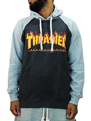 Moletom Thrasher Raglan Flame