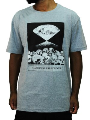 Camiseta Diamond Are Drever Tee White