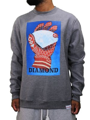 Moletom Diamond Ice Crewneck