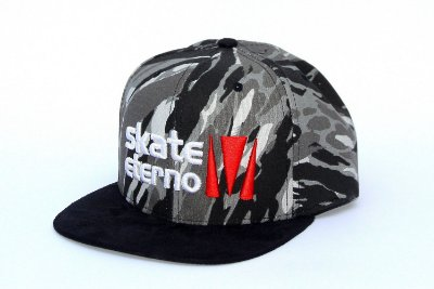 Boné Skate Eterno Snapback Camo Logo
