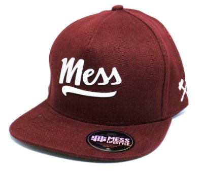 Boné Mess Snapback Bordo