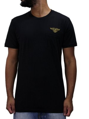 Camiseta Volcom x AntiHero Pocket