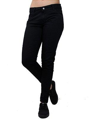 Calça Qix Missy Jeans Preta