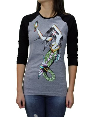 Camiseta Blunt Mermaid Raglan