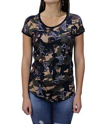 Camiseta Blunt Camo