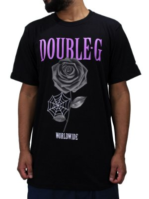 Camiseta Double-G Flower