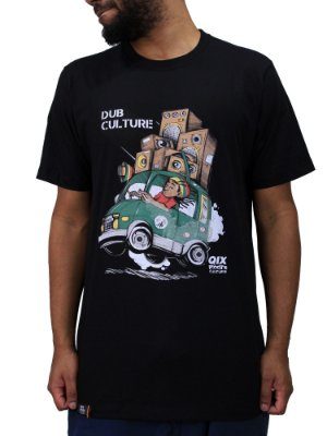 Camiseta Qix Roots Dub Culture