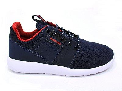 Tênis Double-G Jogg Azul C/ Vermelho