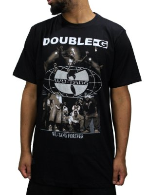 Camiseta Double-G Wu-tang forever
