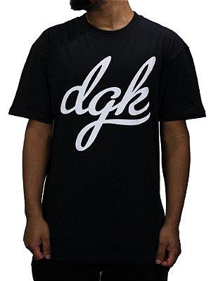 Camiseta DGK Script