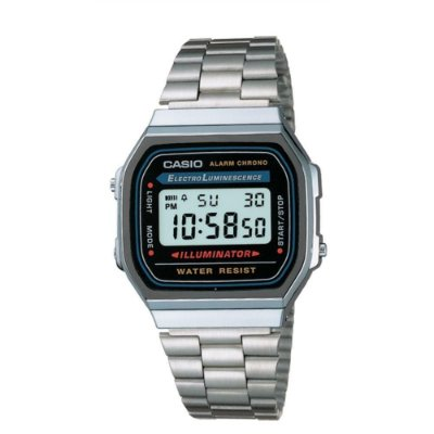 Relógio Casio Vintage Digital Fashion A168WA-1WDF