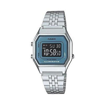 Relógio Casio Vintage Prata LA680WA-2BDF