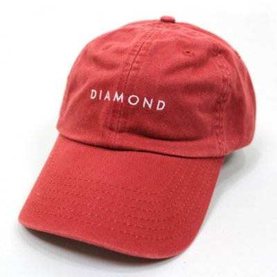 Boné Diamond Leeway Sports Vermelho