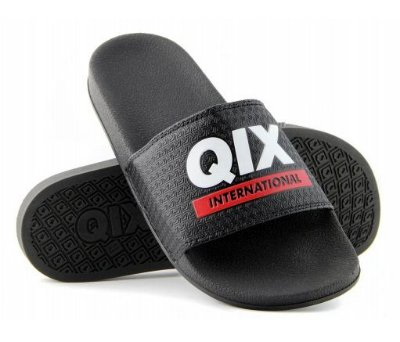 Chinelo Qix Slide Preto international