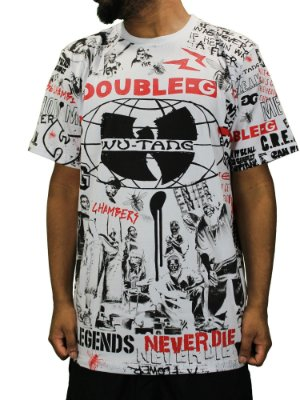 Camiseta Double-F Wu-tang