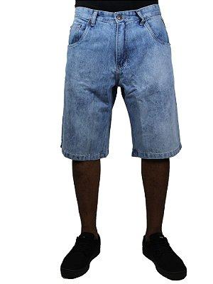 Bermuda Double G Jeans Claro