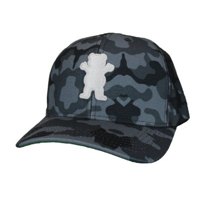 Boné Grizzly Bear Camo Black